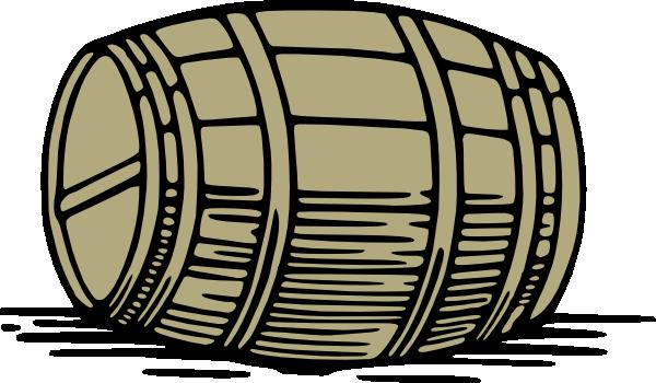 free vector Large Barrel clip art