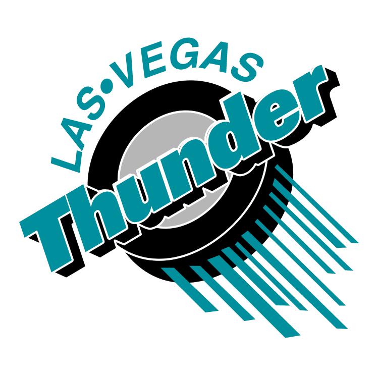 free vector Las vegas thunder