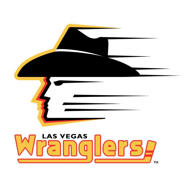 free vector Las vegas wranglers