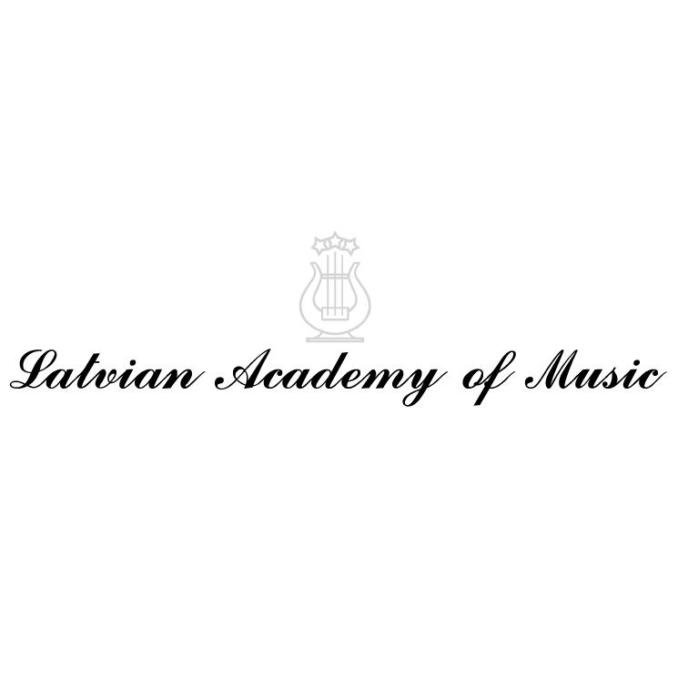 free vector Latvian academy of music