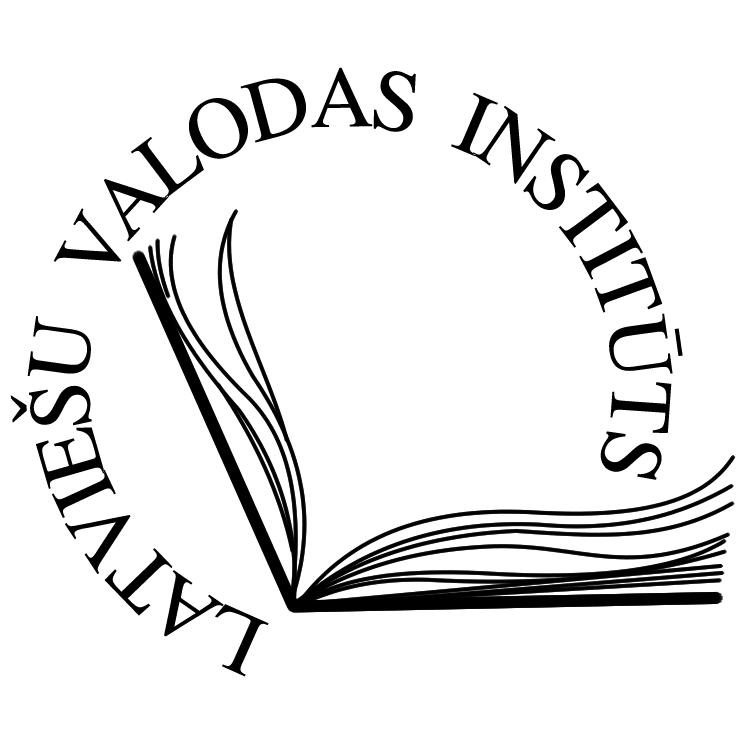 free vector Latviesu valodas instituts