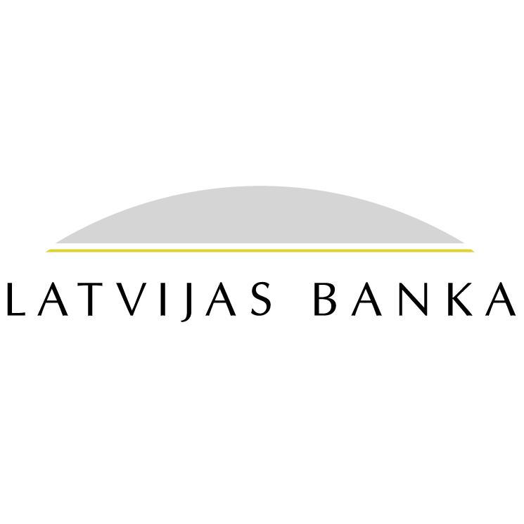 free vector Latvijas banka