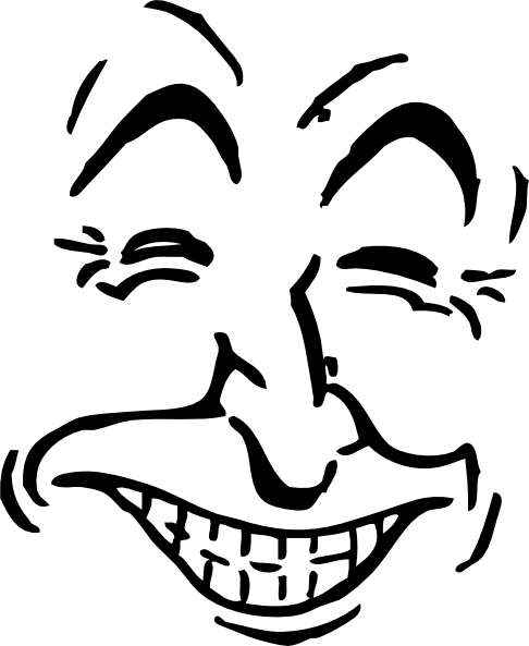 free vector Laughing Face clip art