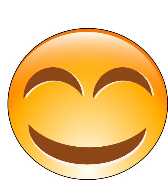 free vector Laughing Smiley clip art