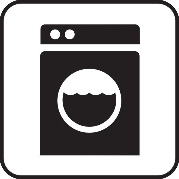 free vector Laundry Laundomat White clip art