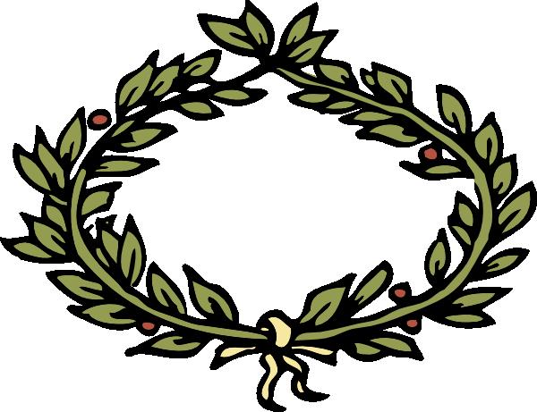 free vector Laurel Crown clip art
