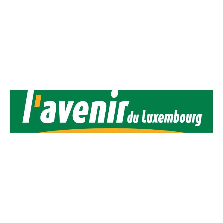 free vector Lavenir du luxembourg