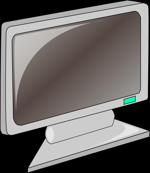 free vector Lcd Flat Panel clip art