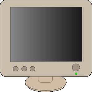 free vector Lcd Flat Panel Monitor clip art