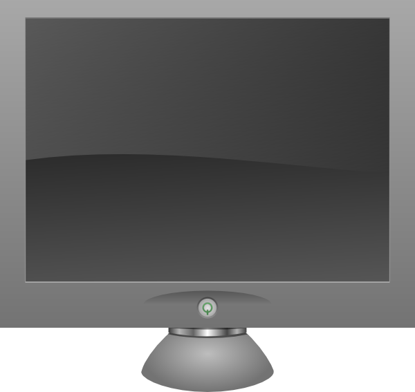 lcd monitor clipart - photo #14