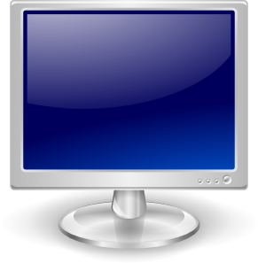 free vector Lcd Monitor clip art