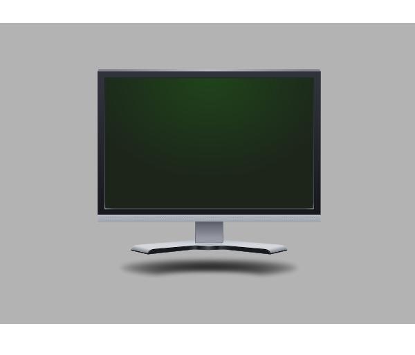 free vector Lcd Screen clip art