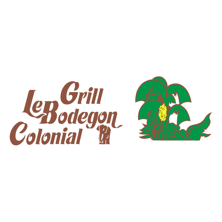 free vector Le bodegon colonial grill