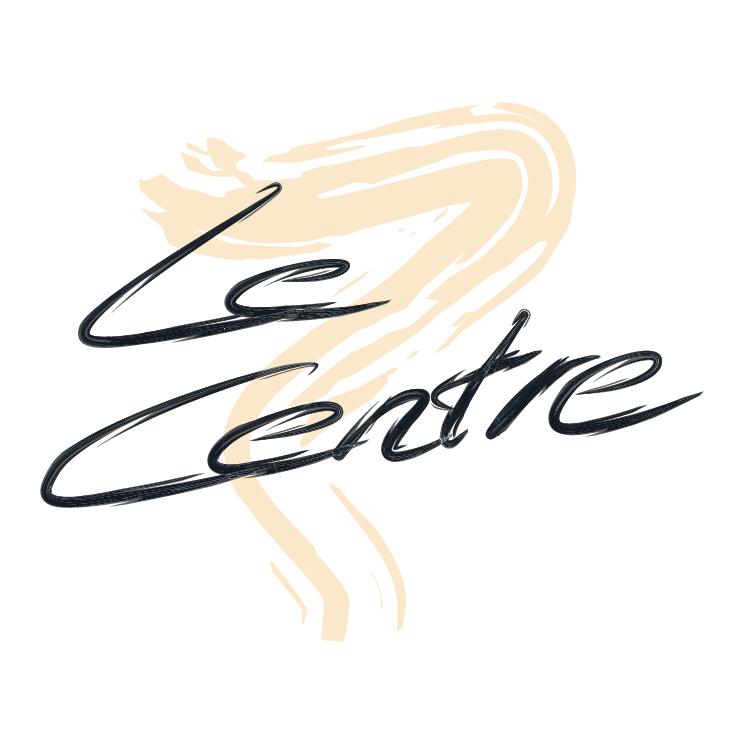 free vector Le centre