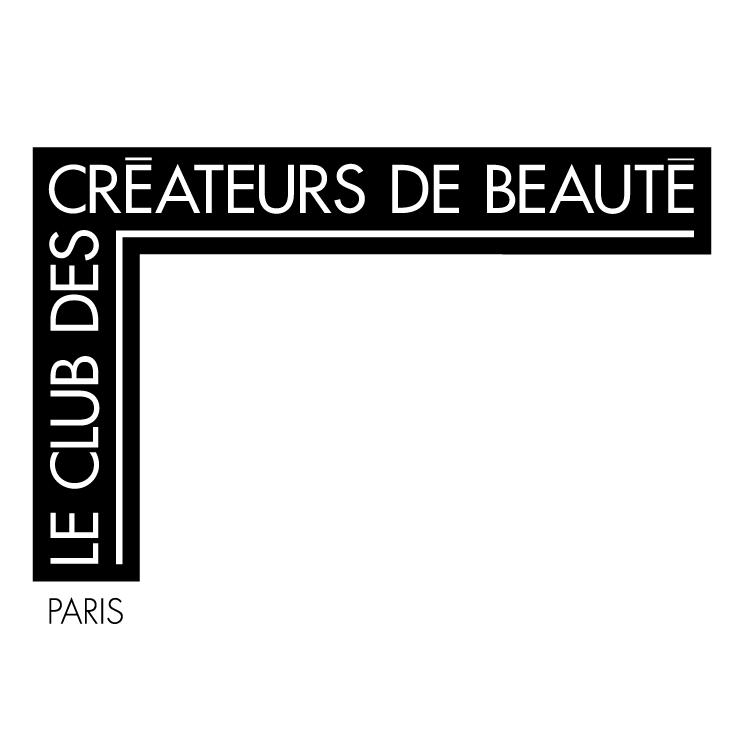 free vector Le club des createurs de beaute