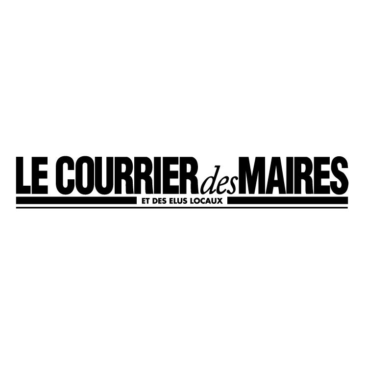 free vector Le courrier des maires