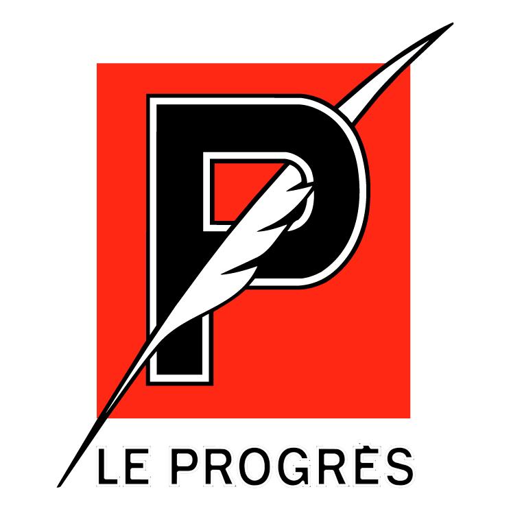 free vector Le progres 0