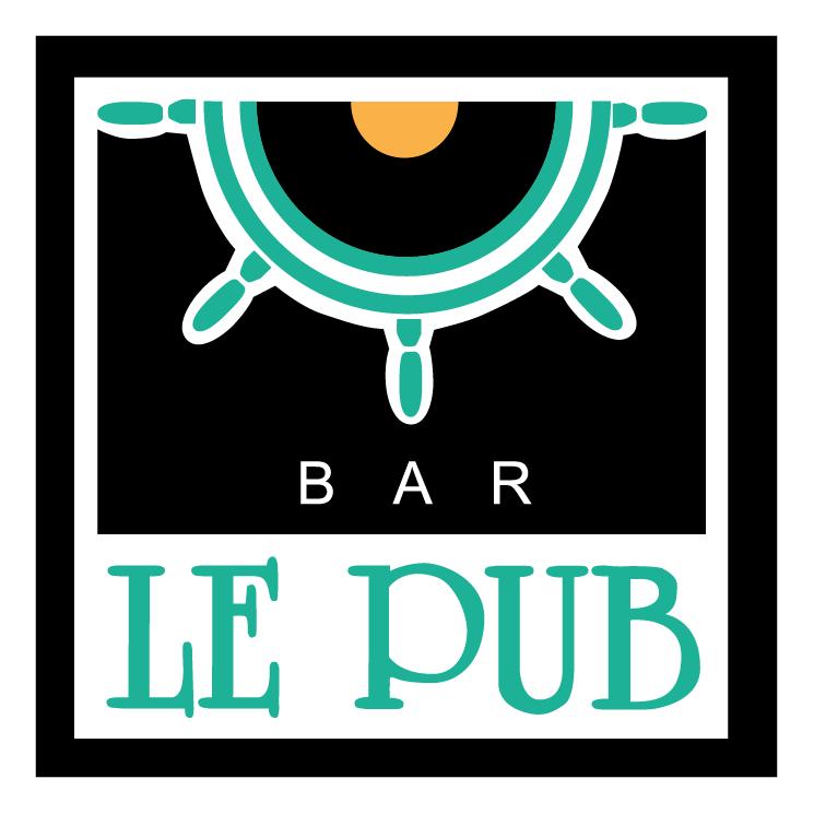 free vector Le pub
