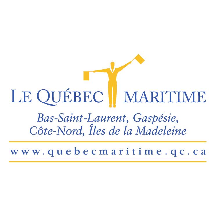 free vector Le quebec maritime 0