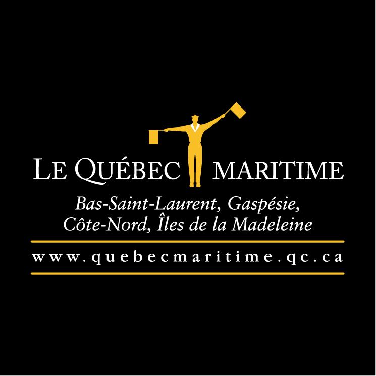 free vector Le quebec maritime 2