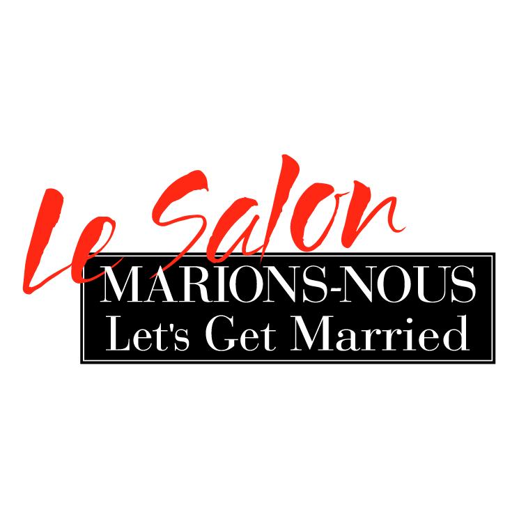 free vector Le salon marions nous