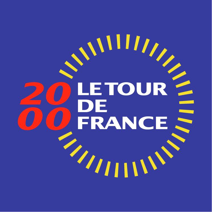 free vector Le tour de france 2000