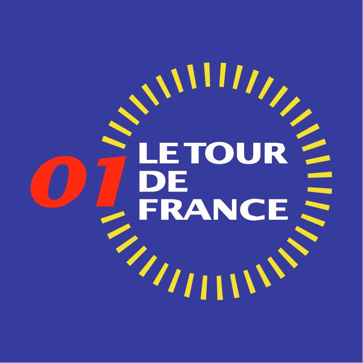 free vector Le tour de france 2001