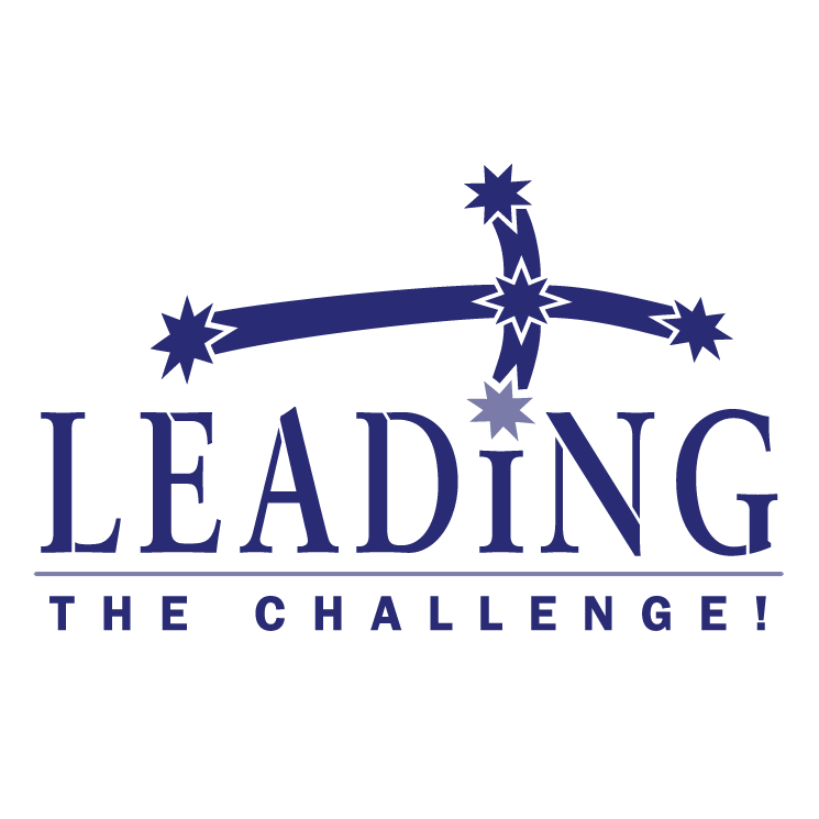 free vector Leading the challenge