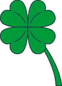 free vector Leaf Clover clip art