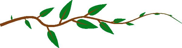 leaf vine clip art free vector 4vector rh 4vector com vine vector free vine vector free