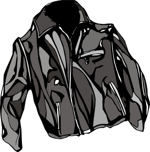 free vector Leather Jacket clip art