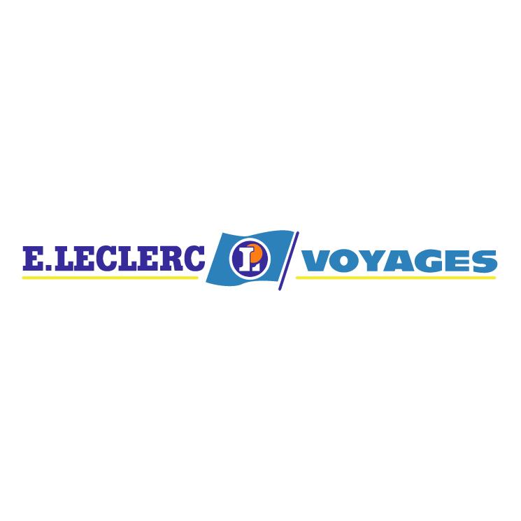 free vector Leclerc voyages