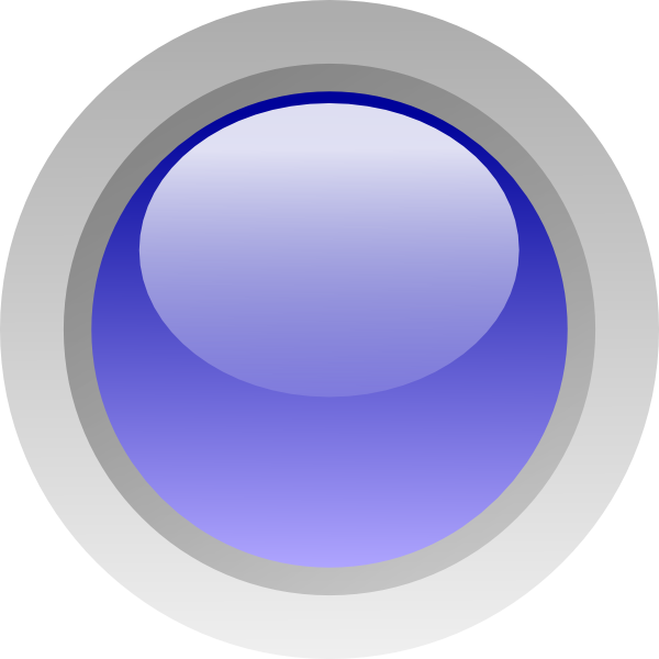 free vector Led Circle (blue) clip art