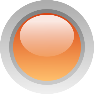 free vector Led Circle (orange) clip art