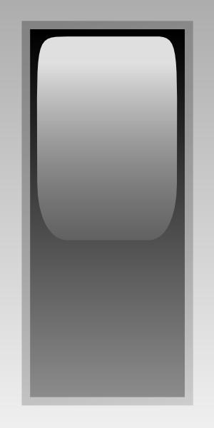 free vector Led Rectangular V (black) clip art