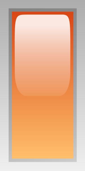 free vector Led Rectangular V (orange) clip art