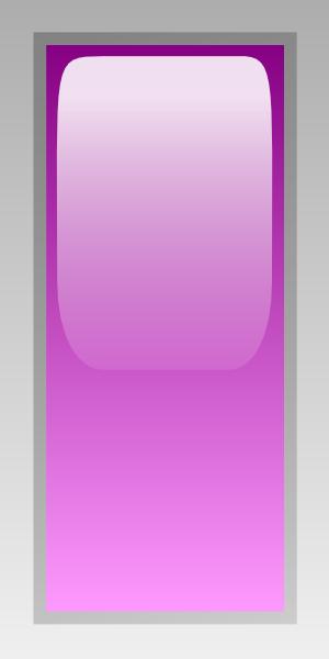 free vector Led Rectangular V (purple) clip art