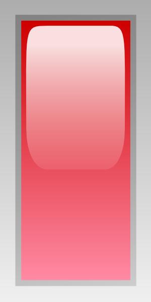 free vector Led Rectangular V (red) clip art