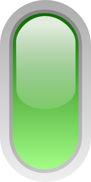free vector Led Rounded V (green) clip art