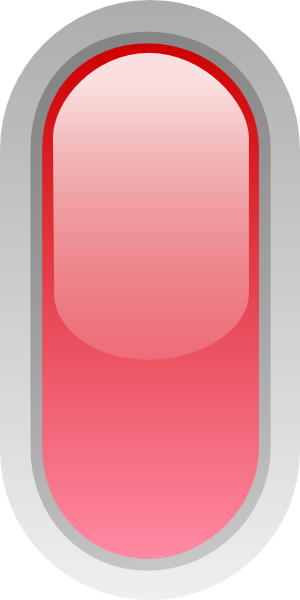 free vector Led Rounded V (red) clip art