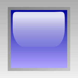 free vector Led Square (blue) clip art