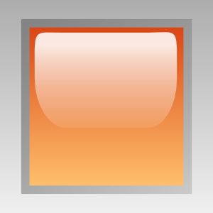 free vector Led Square (orange) clip art
