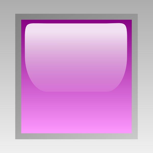 free vector Led Square (purple) clip art