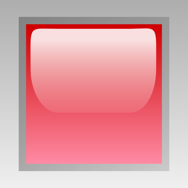 free vector Led Square (red) clip art