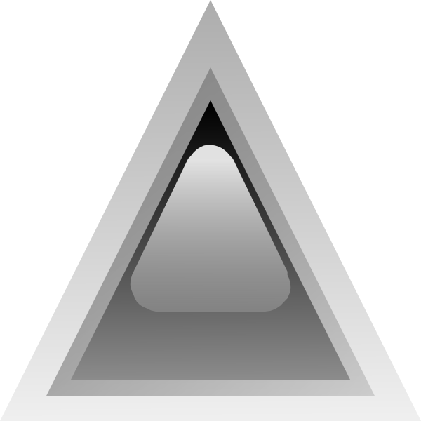 free vector Led Triangular 1 (black) clip art