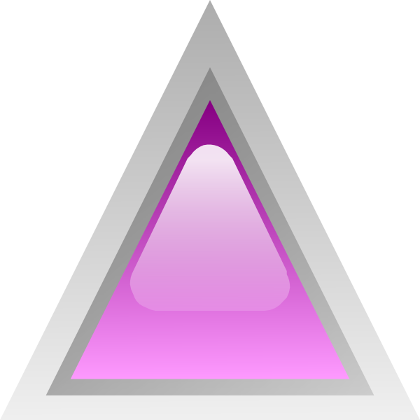 free vector Led Triangular 1 (purple) clip art