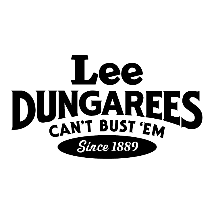 free vector Lee dungarees