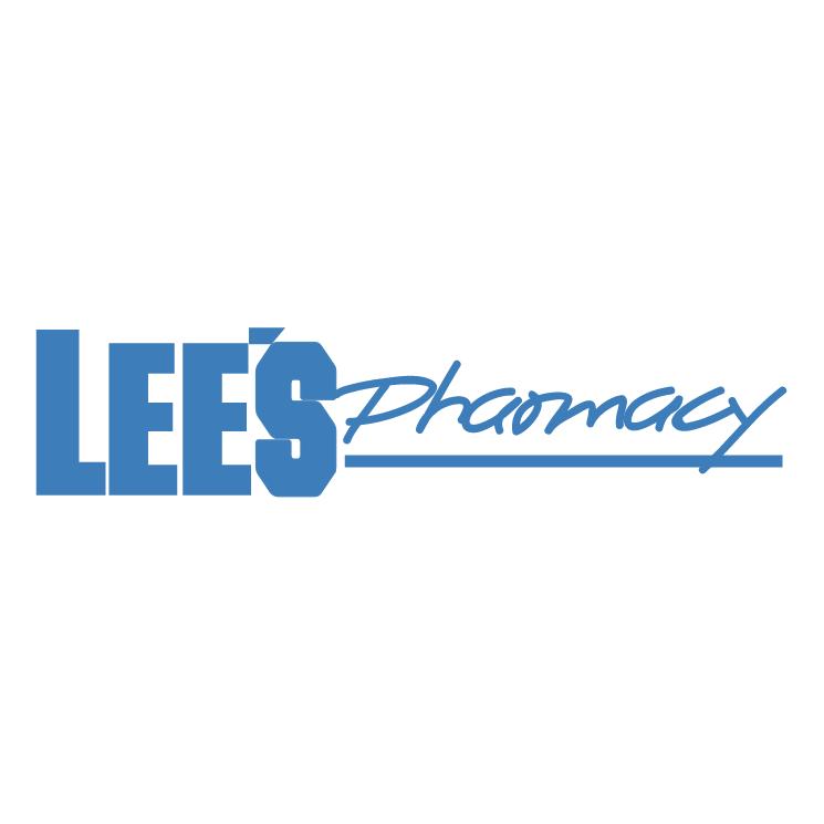 free vector Lees pharmacy