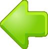 free vector Left Arrow Green clip art