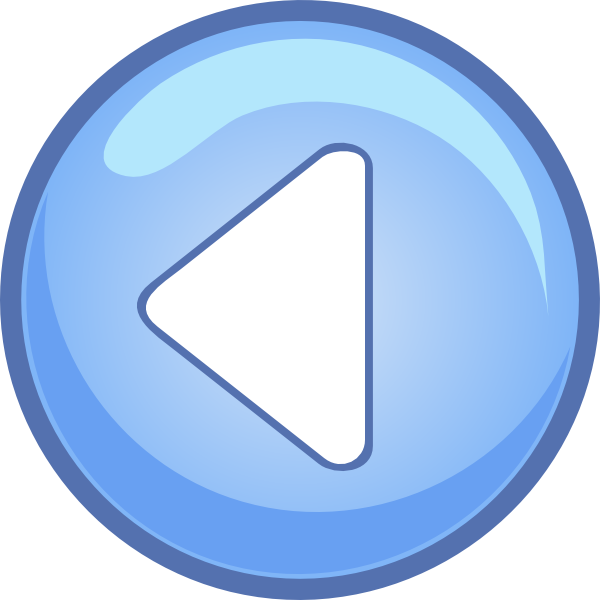 free vector Left Blue Arrow clip art